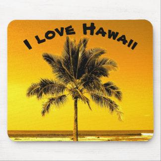 Jag älskar Hawaii Musmatta