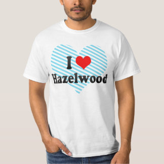 Jag älskar Hazelwood, United States Tshirts