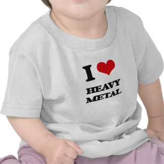 Jag älskar HEAVY METAL T Shirts