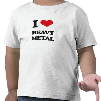 Jag älskar heavy metal tröjor