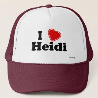 Jag älskar Heidi Truckerkeps