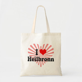 Jag älskar Heilbronn, Tyskland Budget Tygkasse