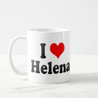 Jag älskar Helena, United States Kaffemugg