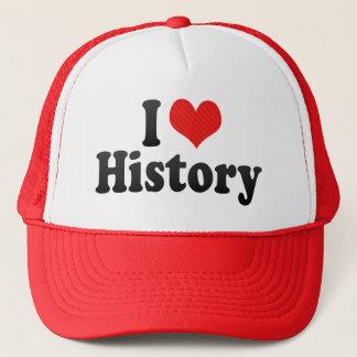 Jag älskar historia truckerkeps