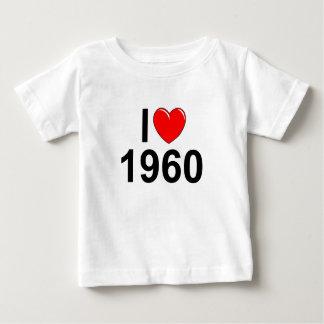 Jag älskar (hjärta) 1960 t shirt