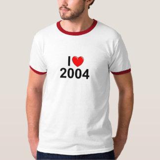 Jag älskar (hjärta) 2004 t-shirt