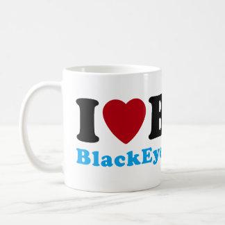 Jag älskar (hjärta) BMX Kaffemugg
