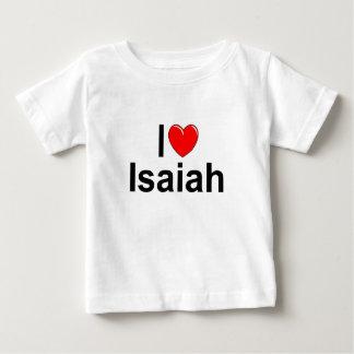 Jag älskar (hjärta) Isaiah T-shirt