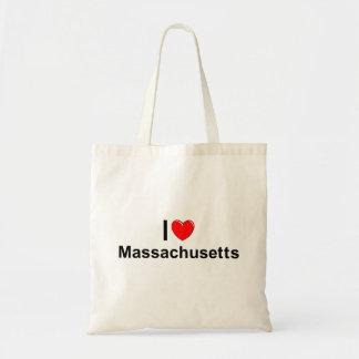 Jag älskar (hjärta) Massachusetts Tygkasse