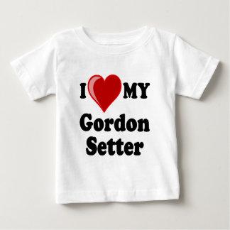 Jag älskar (hjärta) min hund för den Gordon Tee Shirts