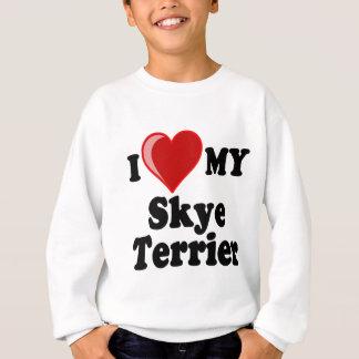 Jag älskar (hjärta) min hund för den Skye T Shirt