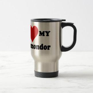 Jag älskar (hjärta) min Komondor hund Resemugg