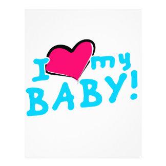 Jag älskar (hjärta) min pojke reklamblad 21,5 x 30 cm