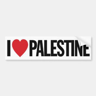 """Jag älskar hjärta Palestina den 11-"""" 28cm Bildekal"""
