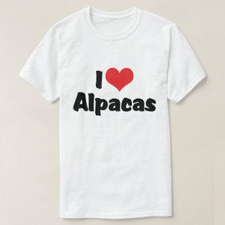 Jag älskar hjärtaAlpacas Tee Shirt