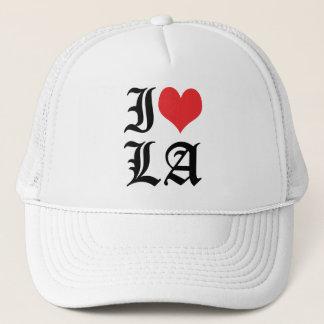 Jag älskar hjärtaLA för LA/I/den Los Angeles Truckerkeps