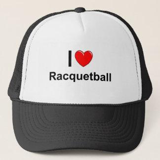 Jag älskar hjärtaRacquetball Keps