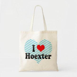 Jag älskar Hoexter Tyskland Tygkassar