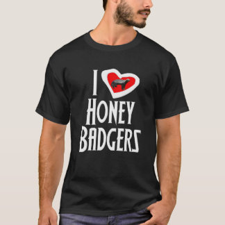 Jag älskar honey badger tee shirts