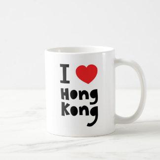 Jag älskar Hong Kong Kaffemugg