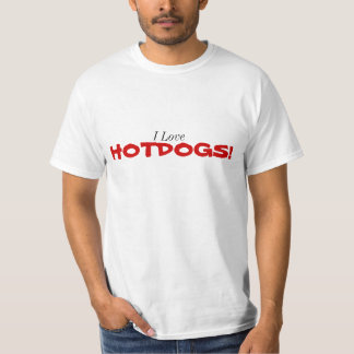 Jag älskar Hotdogs! Tröja