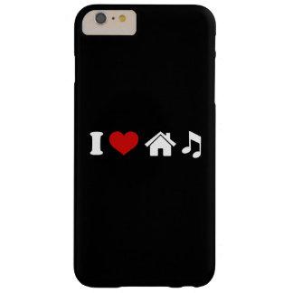 Jag älskar husmusik barely there iPhone 6 plus skal