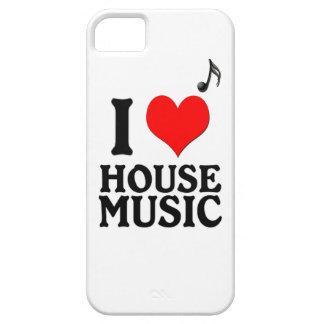 Jag älskar husmusik iPhone 5 cases