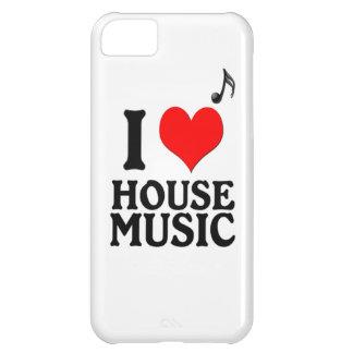 Jag älskar husmusik iPhone 5C fodral