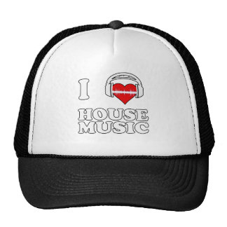 Jag älskar husmusik keps
