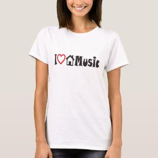 Jag älskar husmusik t shirt