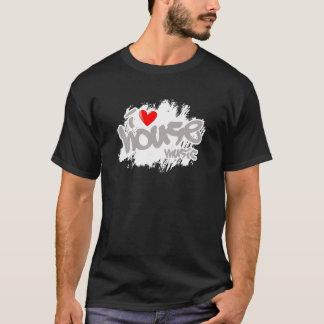 Jag älskar husmusik tee shirts