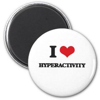 Jag älskar Hyperactivity Magnet För Kylskåp
