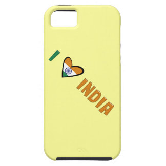Jag älskar Indien iPhone 5 Hud
