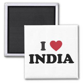 Jag älskar Indien Magnet
