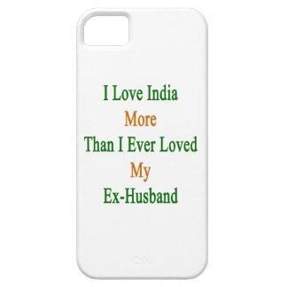 Jag älskar Indien mer, än jag älskade någonsin min iPhone 5 Skydd
