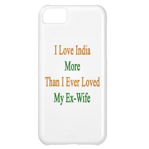 Jag älskar Indien mer, än jag älskade någonsin min iPhone 5C Fodral