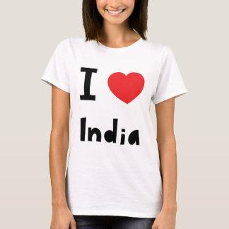 Jag älskar Indien Tshirts