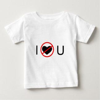 Jag älskar inte dig t shirts