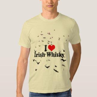 Jag älskar irländsk Whisky Tee Shirt