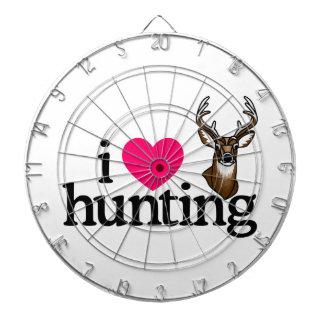 Jag älskar jakt dart tavla