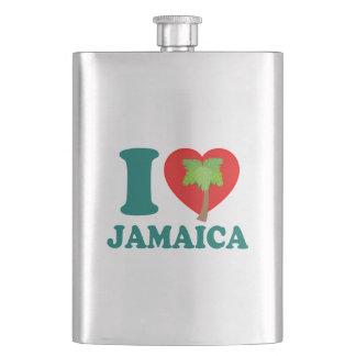 Jag älskar Jamaica Fickplunta
