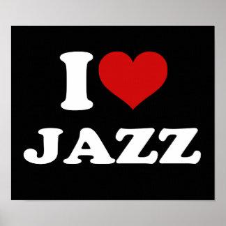 Jag älskar Jazz Poster