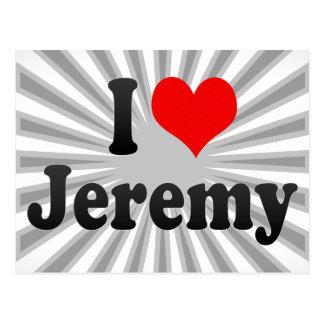 Jag älskar Jeremy Vykort