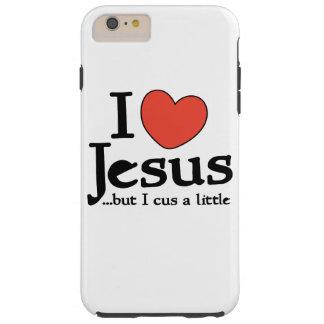 Jag älskar jesus, men jag svär a lite tough iPhone 6 plus skal