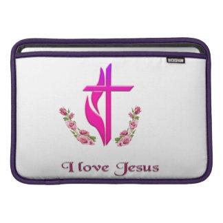 Jag älskar Jesus mobil cases MacBook Air Sleeve