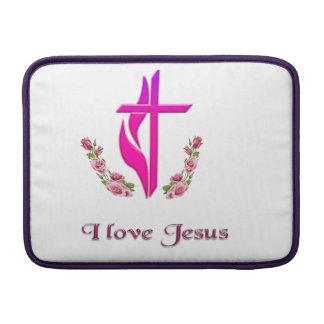 Jag älskar Jesus mobil cases MacBook Sleeve
