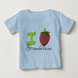 Jag älskar jordgubbar tee