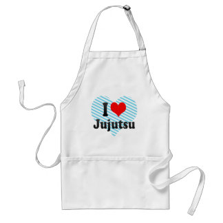 Jag älskar Jujutsu Förkläde