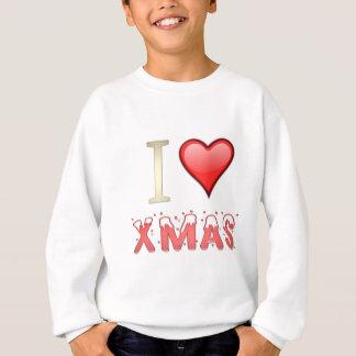 Jag älskar julafton tröja