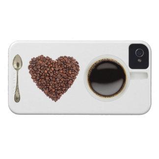 Jag älskar kaffe - iPhone4 - iPhone 4 Case-Mate Skal